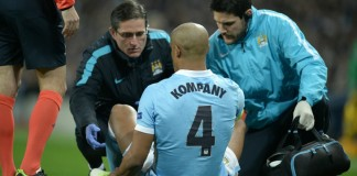 Guardiola concerned by Kompany's injury woes