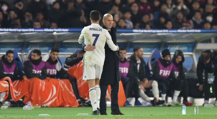 Zidane plans to limit Ronaldo's minutes