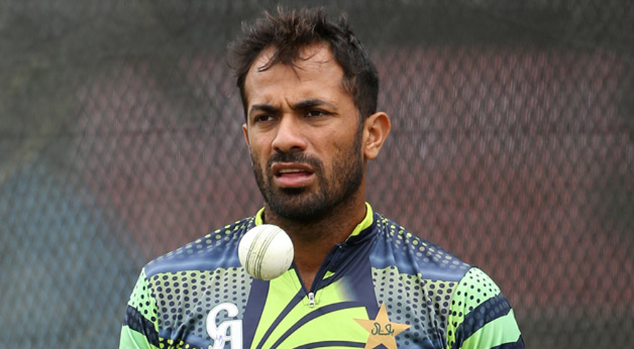 Wahab Riaz's father passes away
