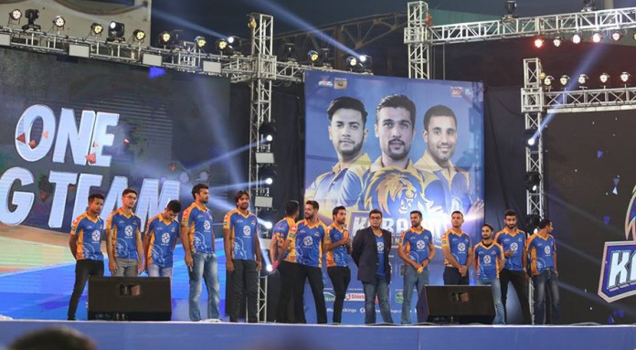 Karachi Kings hold star studded launch event