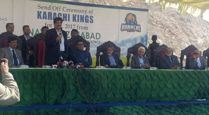Arif Habib hosts send off ceremony for Karachi Kings