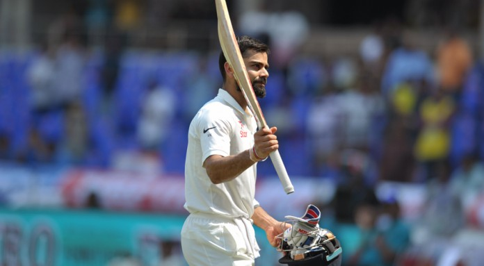 Kohli hits historic double ton