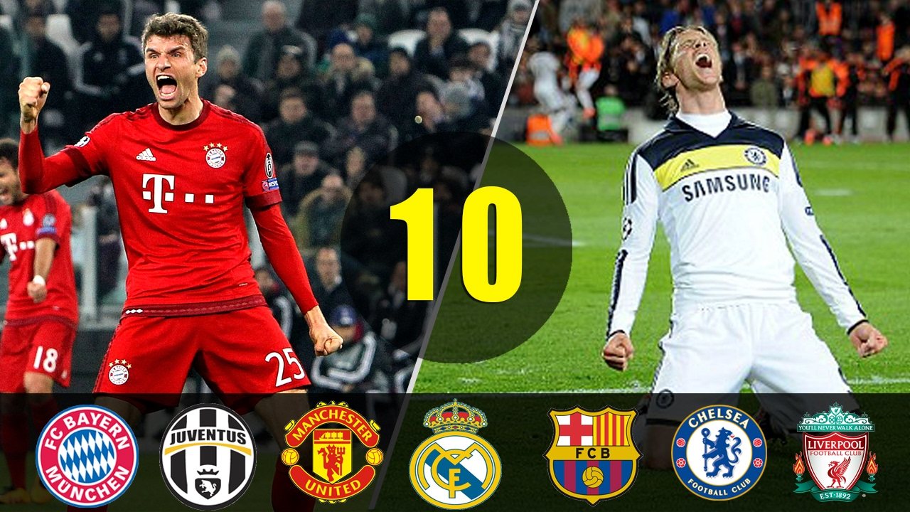 ff7efe8271823 Top 10 Most Thrilling UCL Matches In Football ○ Dramatic Football Moments -  ARYSports.tv