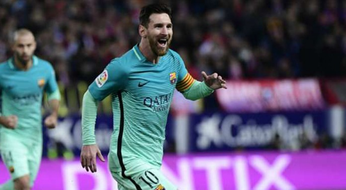 Suarez, Messi wonder strikes give Barca edge at Atletico