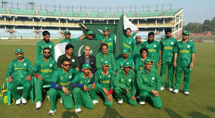 Pakistan Blind Cricket Team registers their fourth consecutive win