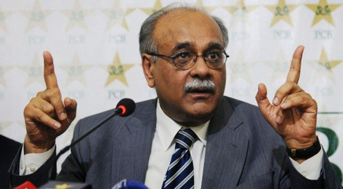 Sethi briefs foreign players about security plans for PSL final in Lahore