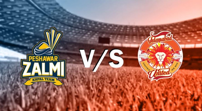 Live: Islamabad United takes on Peshawar Zalmis