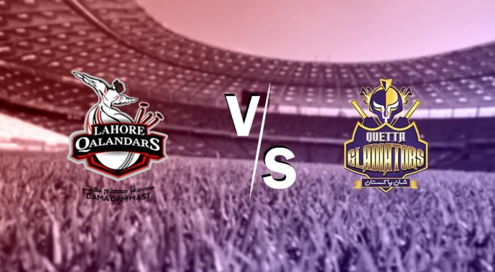 Gladiators look to knockdown Qalandars again