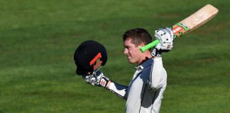 Nicholls' century leads New Zealand recovery