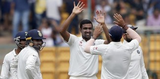 Ashwin grabs six as India stun Australia