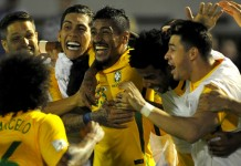 Paulinho hat-trick keeps Brazil on road to Russia