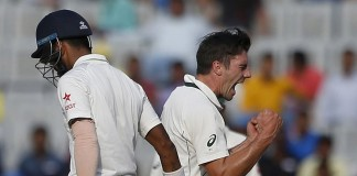 Cummins strikes pull India back, Pujara firm
