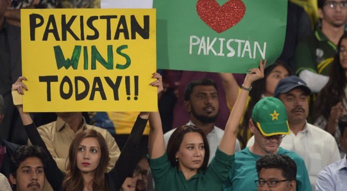 PSL final in Lahore.
