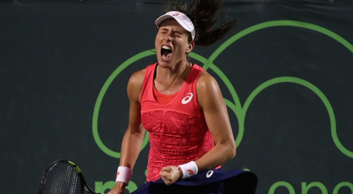 Britain's Konta downs Venus to reach Miami final