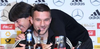 Podolski one of Germany's all-time greats, says coach Loew