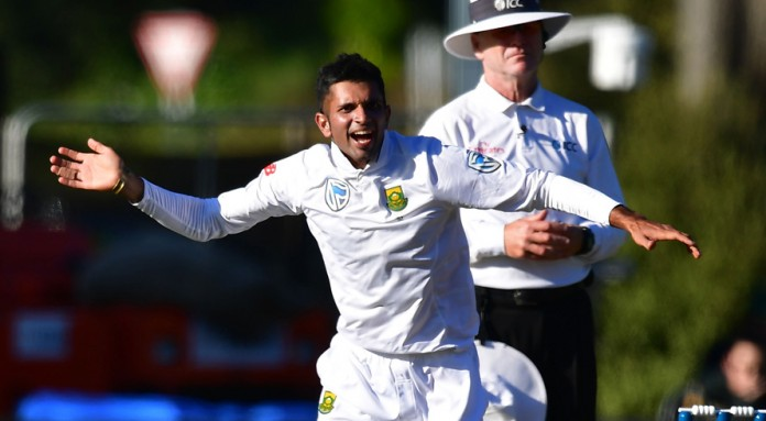 Maharaj's six sets three-day win for South Africa