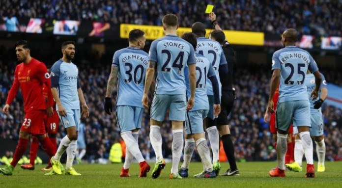 Man City charged with misconduct in Liverpool game