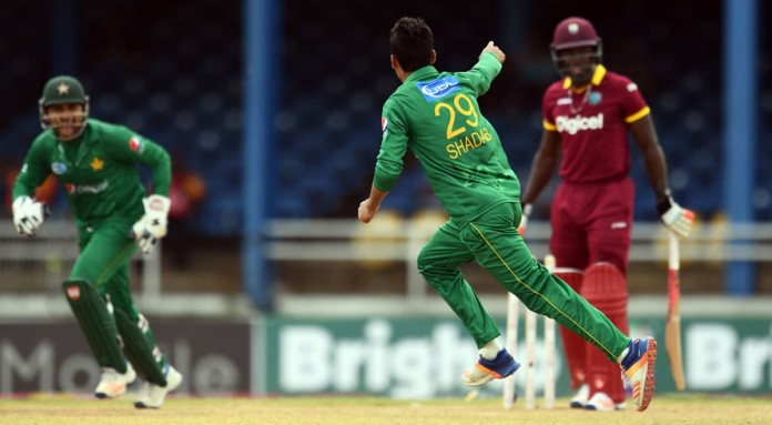Shadab shines again as Pakistan deny Windies