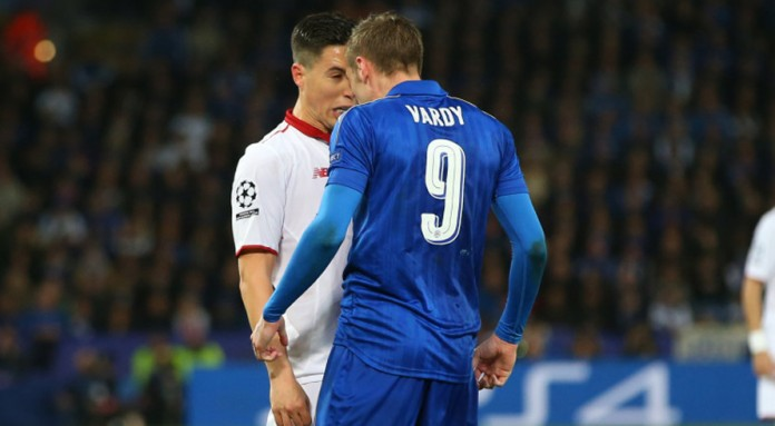 Nasri brands Vardy 'a cheat' after red card