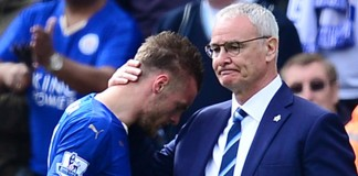 Leicester's Vardy got death threats over Ranieri sacking