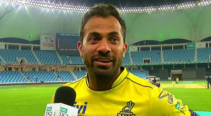 Wahab gets emotional, dedicates win to his father