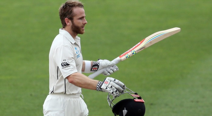 Williamson equals New Zealand century record