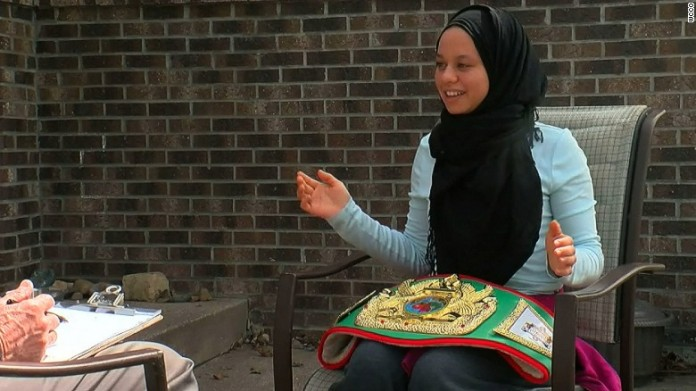 Amaiya Zafar to become first boxer to compete in hijab