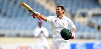Local and foreign cricketers send in congratulatory messages for Younis Khan