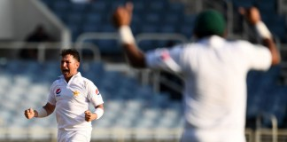 Pakistan eye win as Shah strong, Misbah left on 99