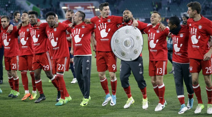 Rampant Bayern win fifth straight German league title