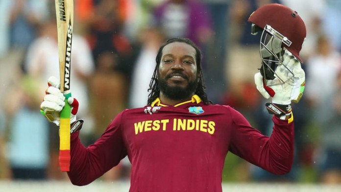 Gayle first to hit 10,000 Twenty20 runs