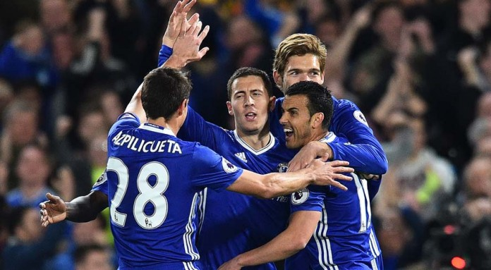 Hazard backs 'professional' Chelsea to see out title race