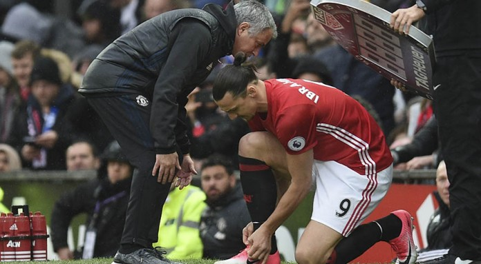Mourinho braced for Ibrahimovic, Rojo bad news