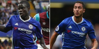Chelsea's Kante and Hazard up for PFA player of year award