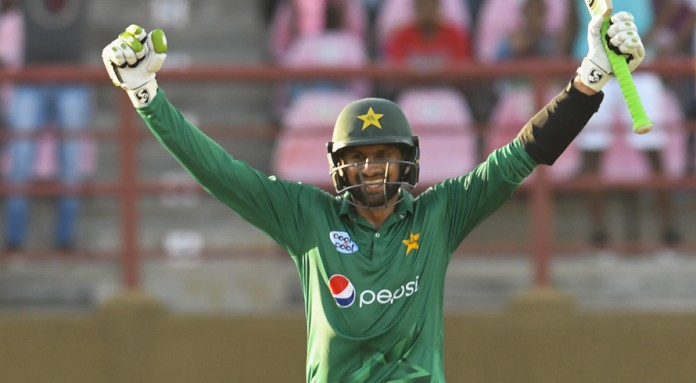 Malik ton as Pakistan down West Indies to take series