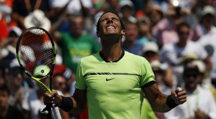 Federer outlasts Kyrgios to set up Nadal final in Miami