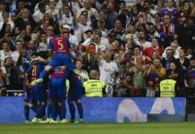 Madrid hit Deportivo for six, Barca relegate Osasuna