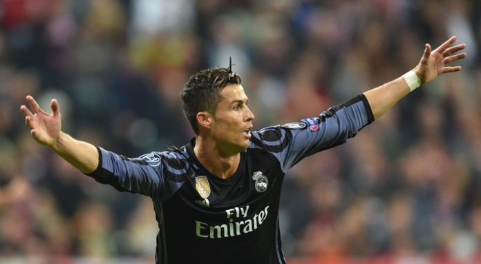 Ronaldo hits 100th European goal as Real win at Bayern