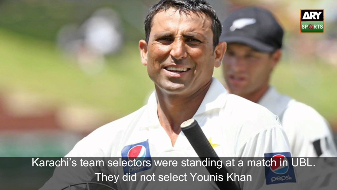 Waheed Mirza – the eye that identified iconic Younis Khan