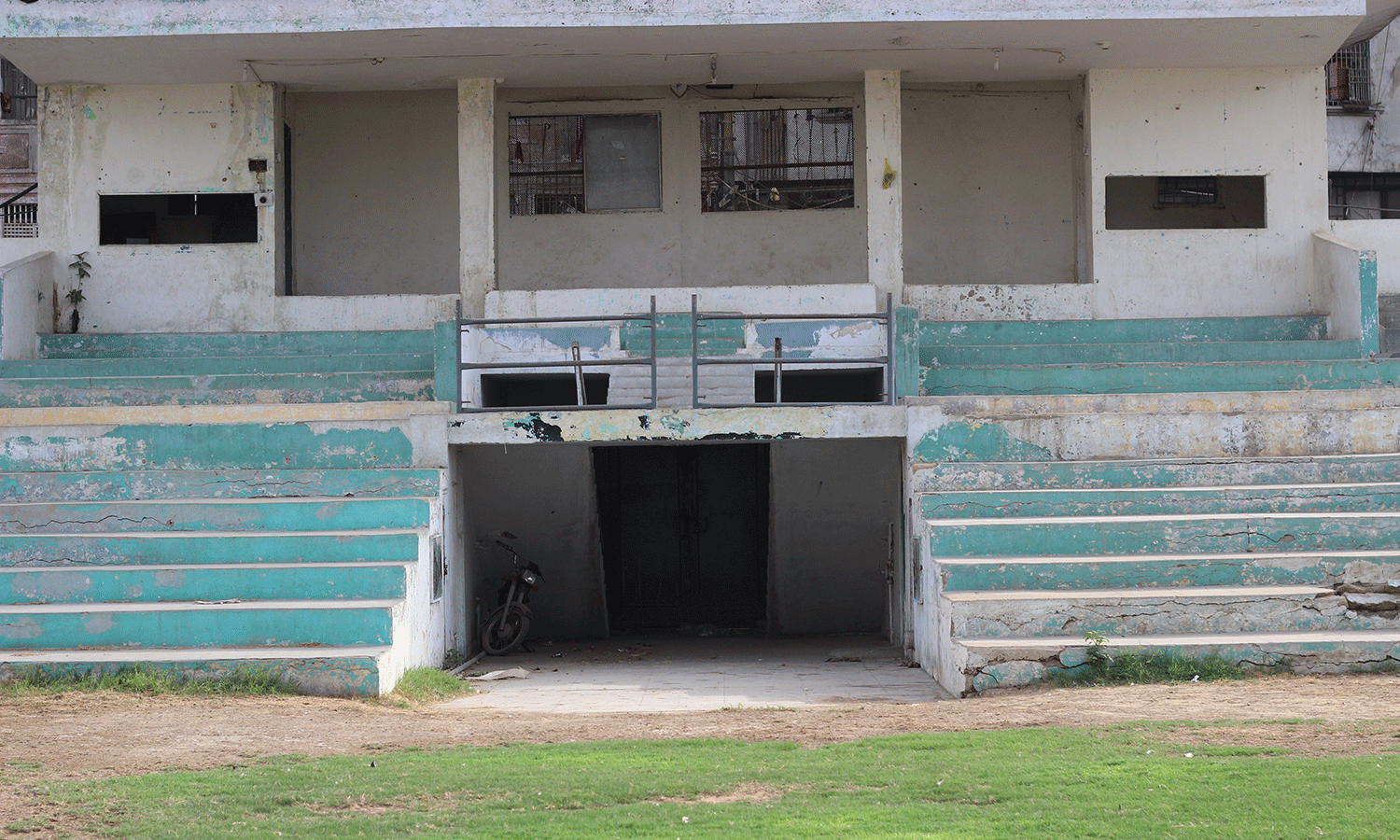 KMC Football stadium awaits authorities' attention.