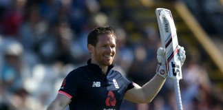 Morgan ton sets up England win over South Africa