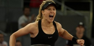 Bouchard beats fallen idol Sharapova in Madrid