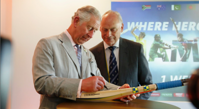 Prince Charles launches Champions Trophy