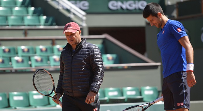 Djokovic hints at stellar name after coaching overhaul