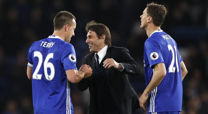 Chelsea one 'little step' from title - Conte