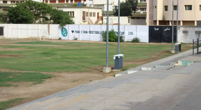 KMC Football stadium: Downtrodden glory