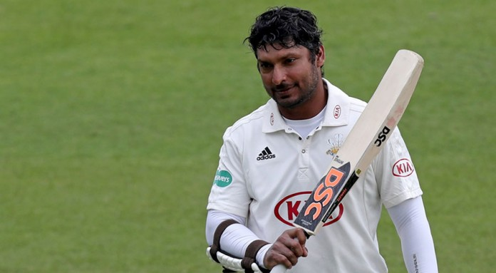 Sangakkara falls short of record-equalling century