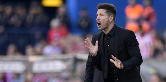 Simeone rabble-rouses beaten down Atletico to believe