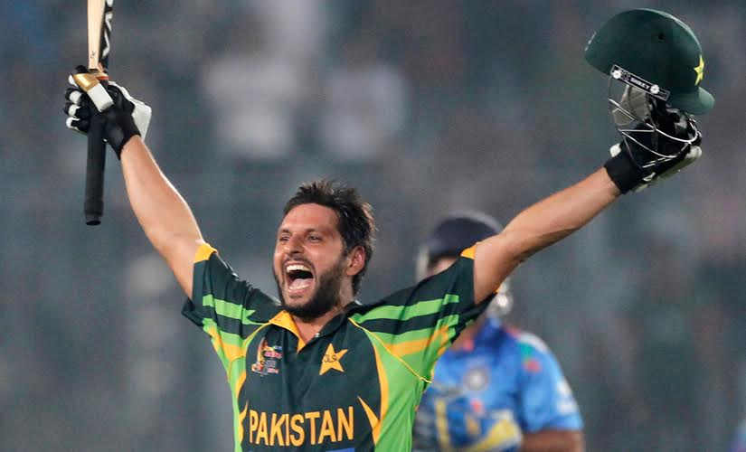 Shahid Afridi, living up to his big-hitting reputation, smashed the next two balls for sixes to seal victory