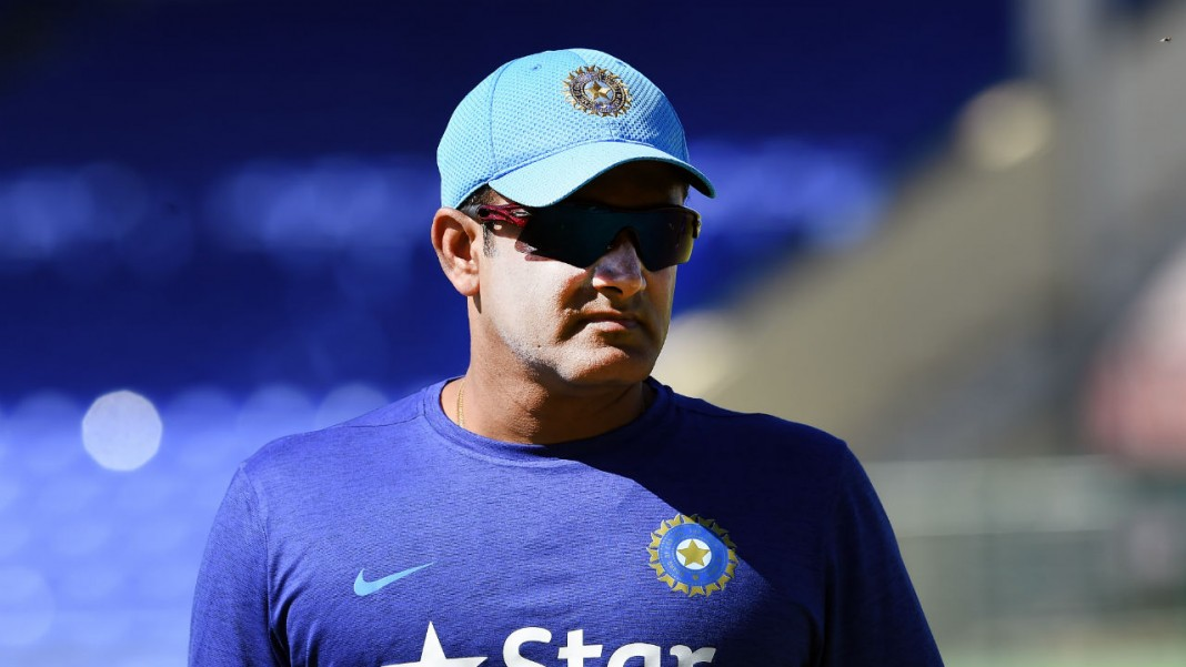 Kumble set to remain India coach for Windies tour